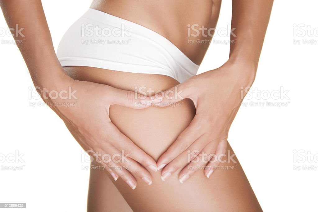 There is no cellulite.. stock photo