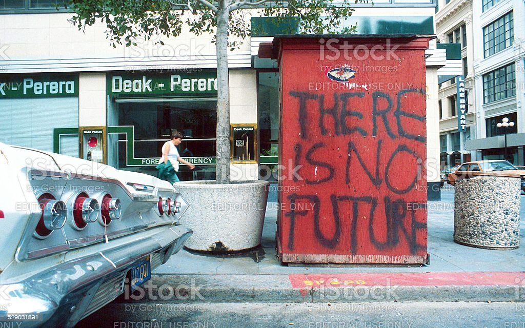 There is no future stock photo