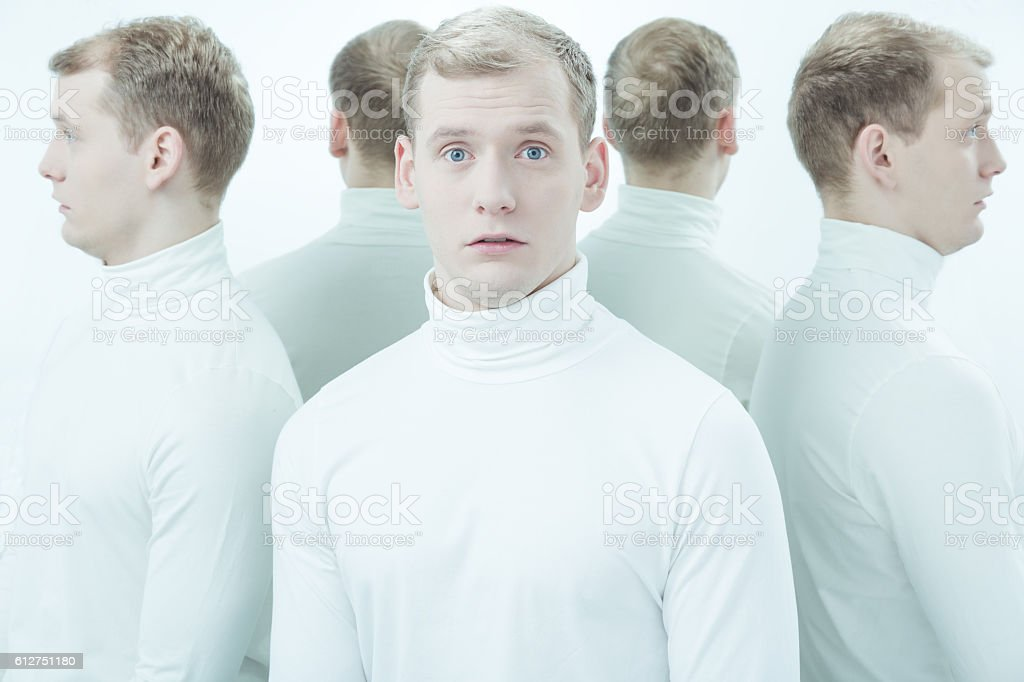 There is no place to hide stock photo