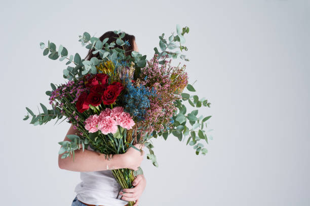 There is nothing more beautiful than a bouquet stock photo