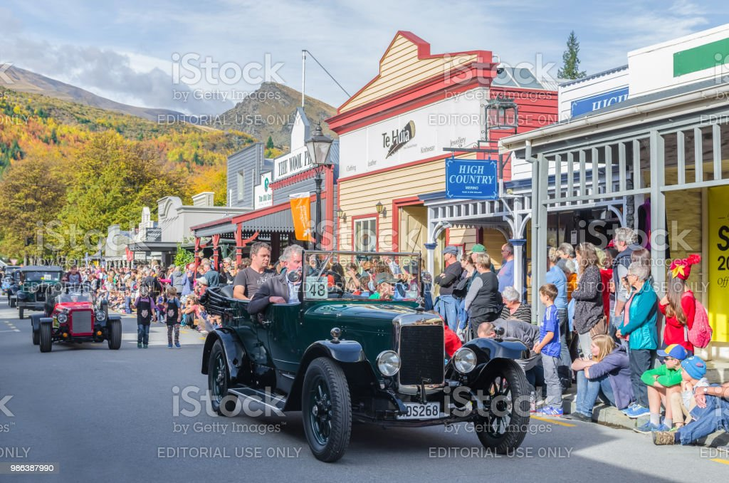 There is parade event during the Arrowtown Autumn Festival on...