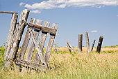 istock there once was a fence 146860760