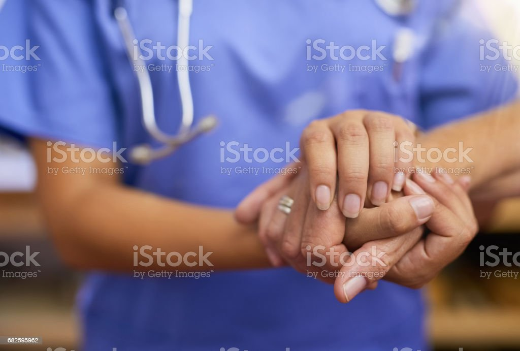 There to offer guidance stock photo