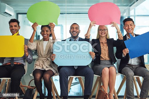 istock There's a lot going on in their minds before the interview 968901554