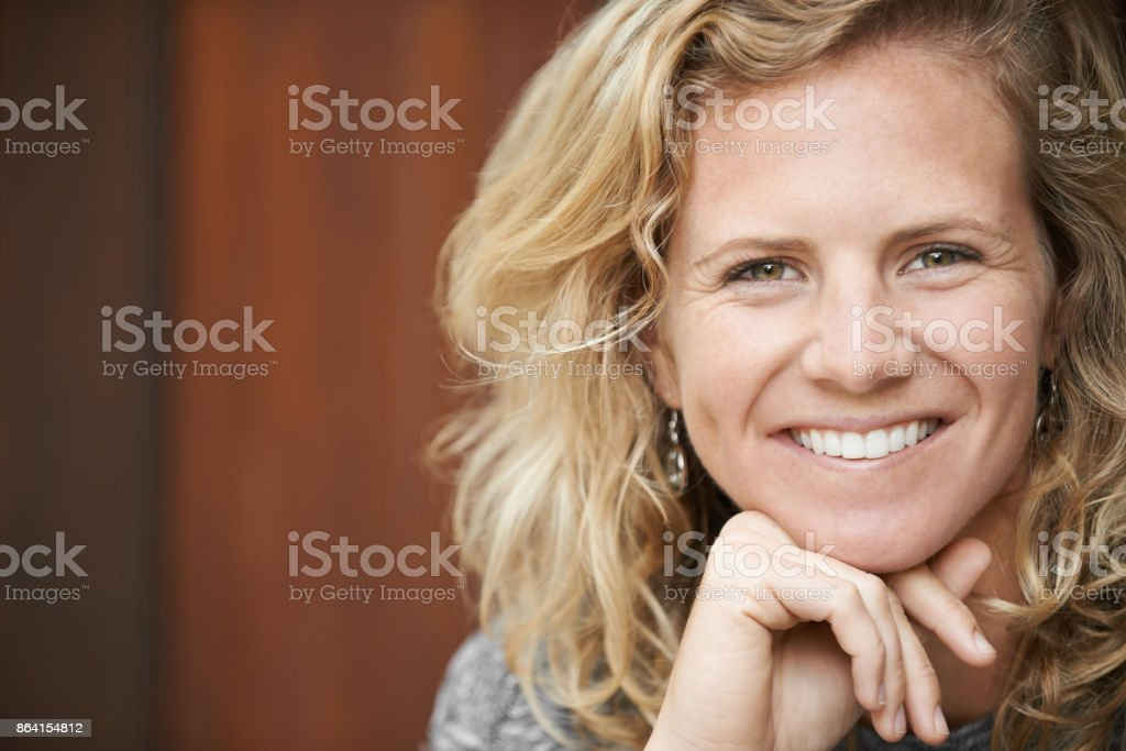 There's always a reason to smile. Find it royalty-free stock photo