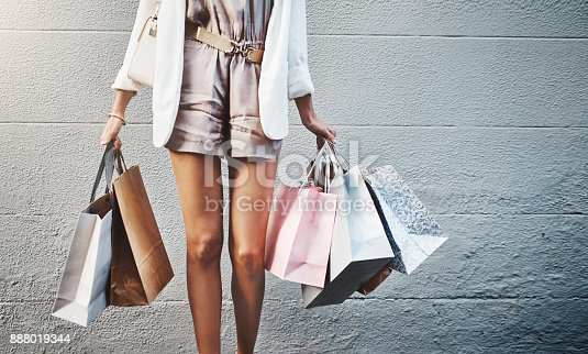 Theres Always More Shopping To Do Stock Photo & More Pictures of Adult