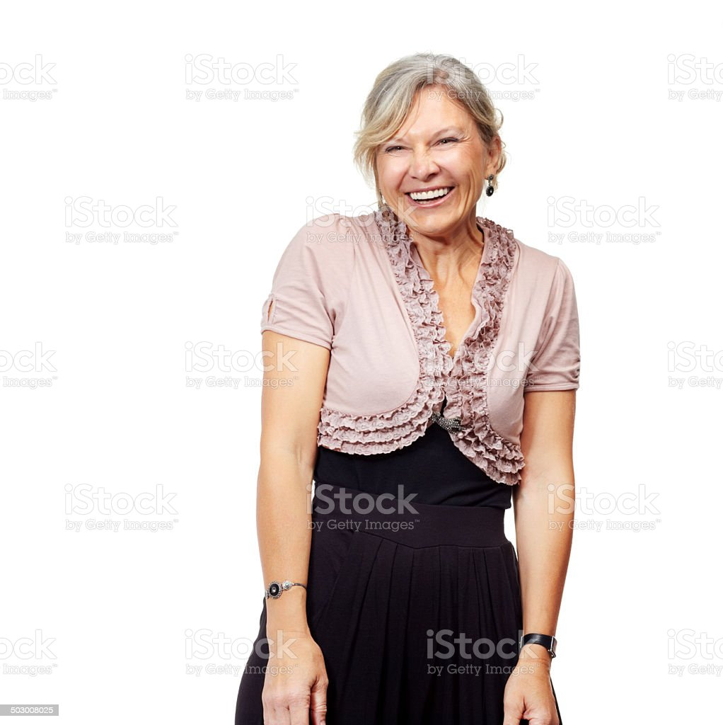 There's always something to smile about stock photo