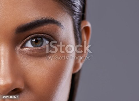 istock There's inner beauty behind those eyes 492146377