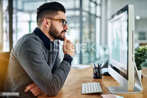 istock There's much to analyse from just a little data 653850508