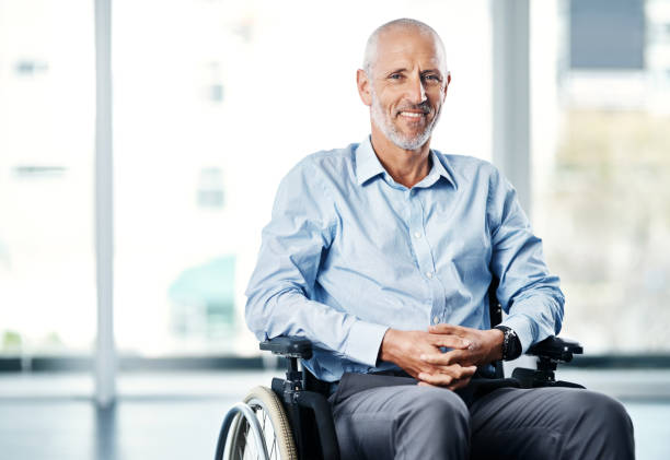 there's no excuse not to live with a purpose - wheelchair stock photos and pictures
