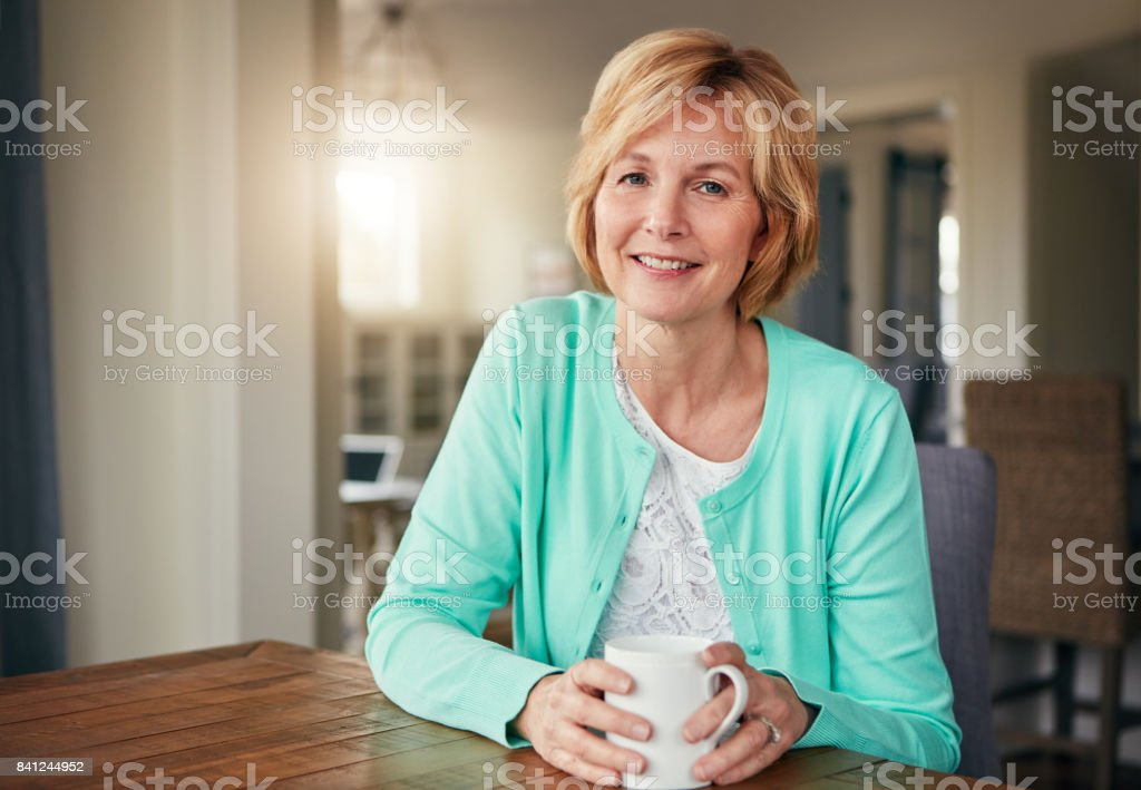 There's no place more relaxing than home stock photo