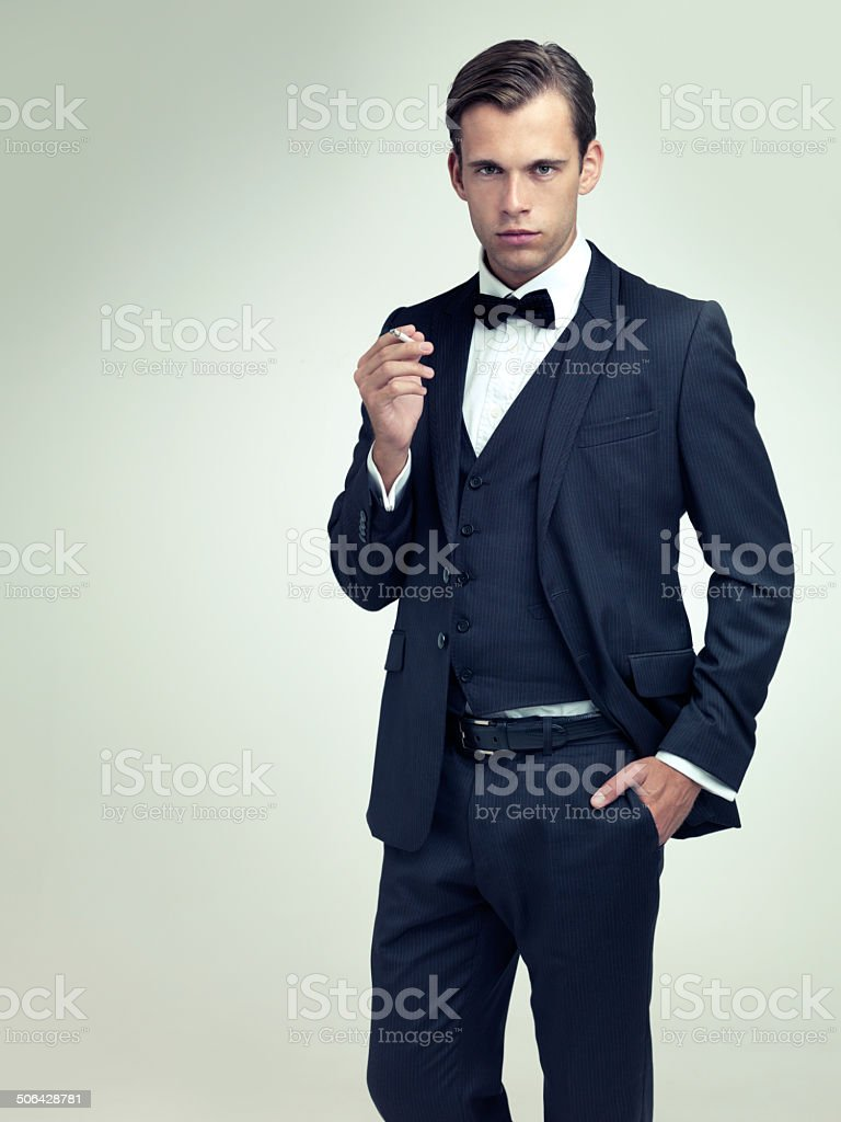 There's no such thing as over-dressed royalty-free stock photo