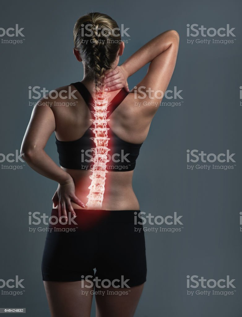 There's nothing a deep tissue massage can't fix stock photo