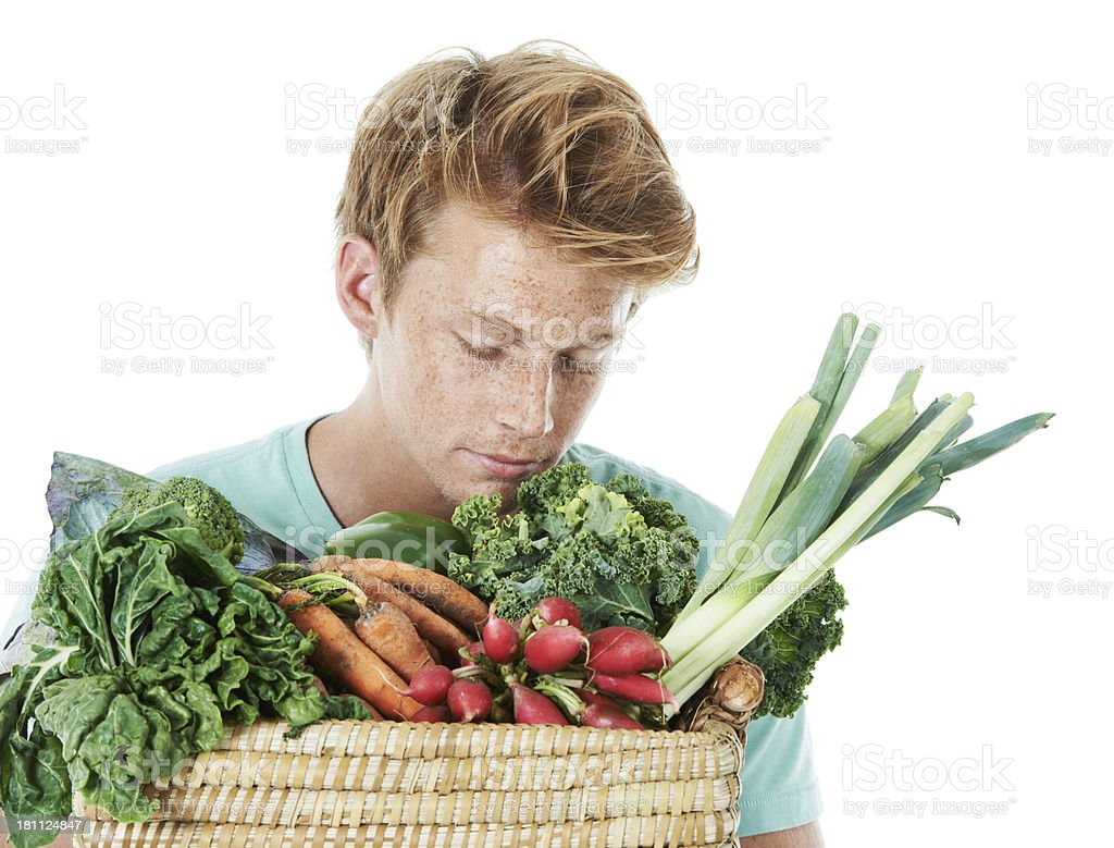 There's nothing like fresh produce royalty-free stock photo