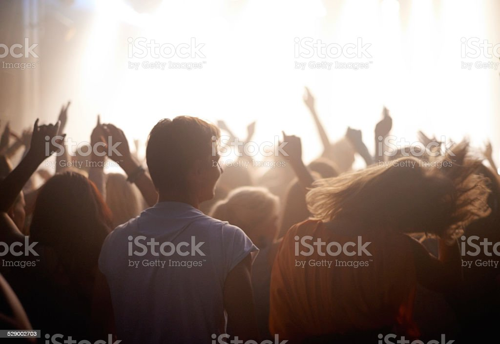 There's nothing quite like live music stock photo