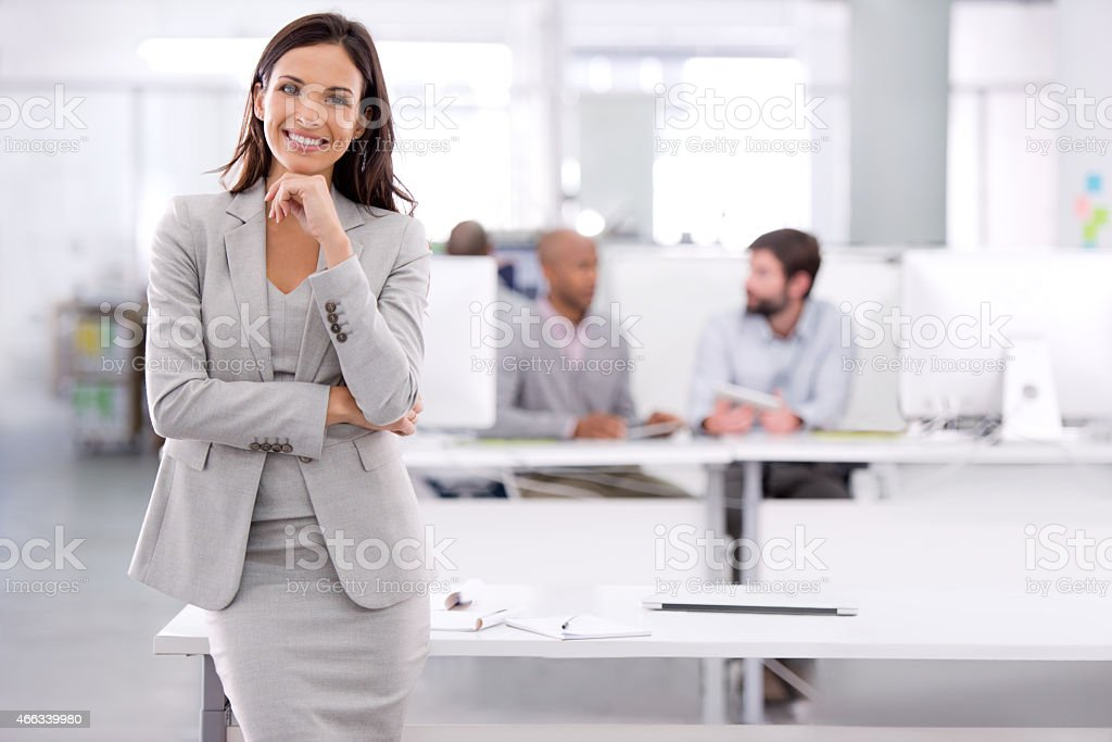 There's nothing they can't achieve! stock photo
