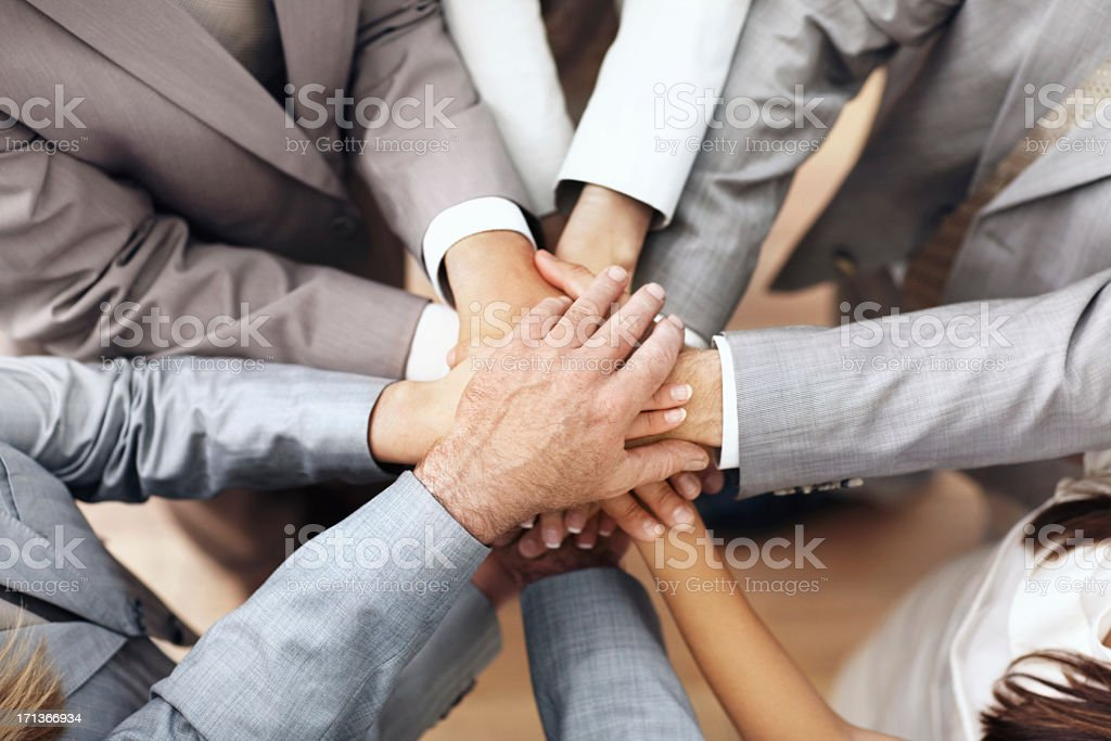 There's nothing we can't do together royalty-free stock photo