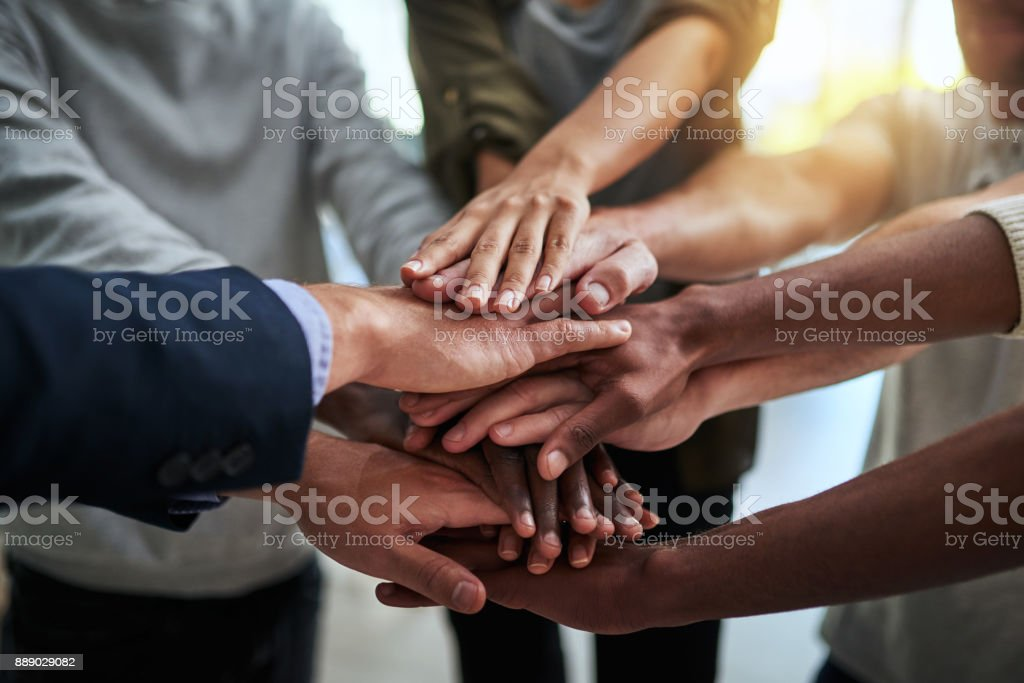 There's nothing we can't do together stock photo