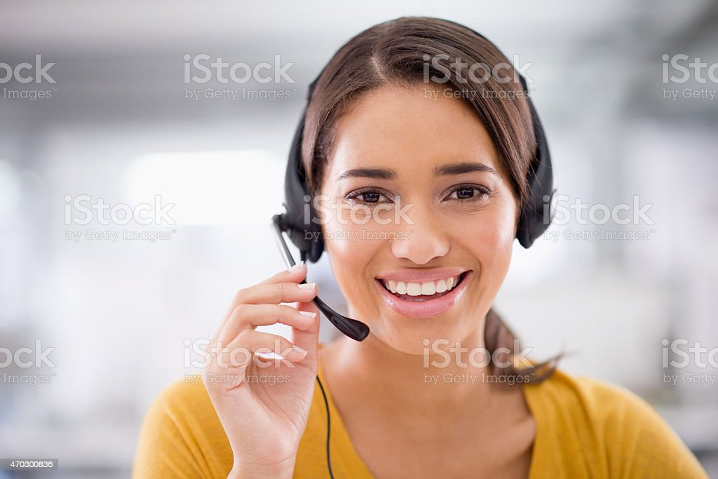 There's only one boss, the customer stock photo