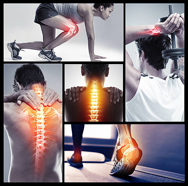 there's risk of injury in every sport - sports medicine stock photos and pictures