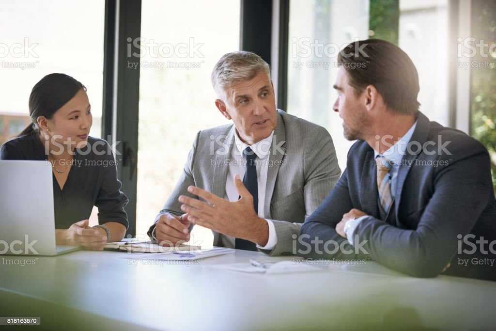 There's so much they can learn from him stock photo