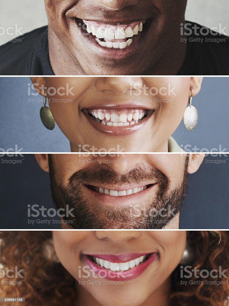 C'è così tanto a sorridere su - foto stock