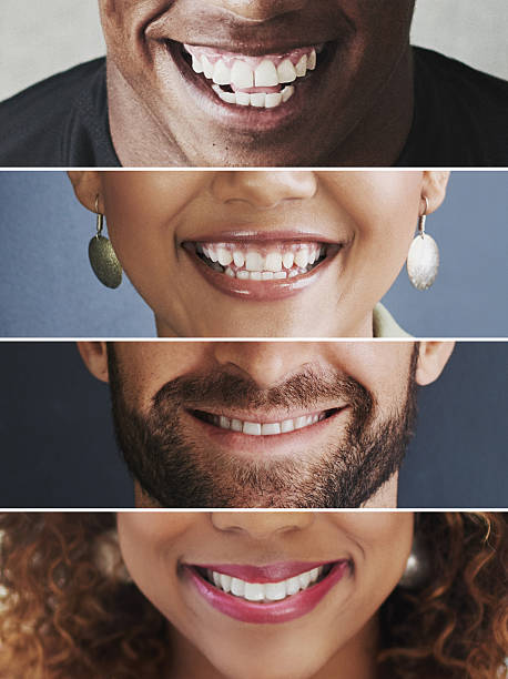 There's so much to smile about Composite image of an assortment of people smiling mouth stock pictures, royalty-free photos & images