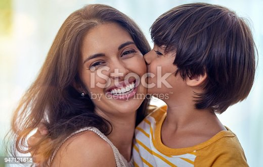 istock There's something extra special about the mother son connection 947121618