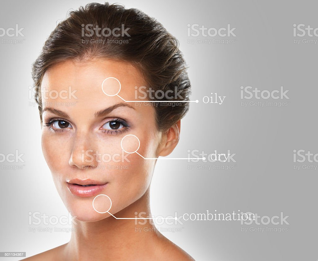 There's something for every skin type stock photo
