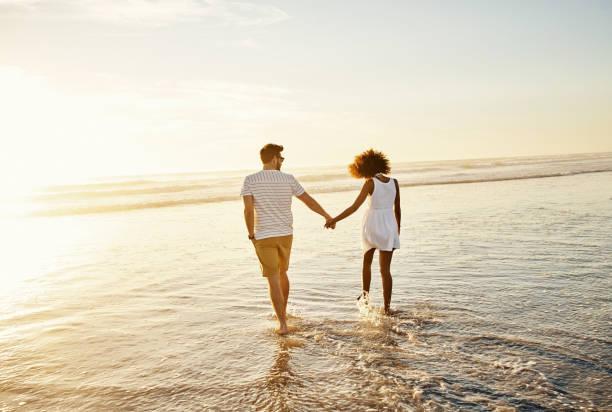 Es gibt etwas Romantisches am Strand – Foto