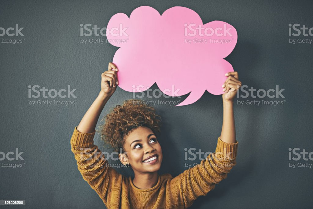 There's something you should know stock photo