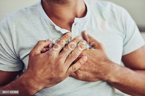 istock There's that chest pain again 904149388
