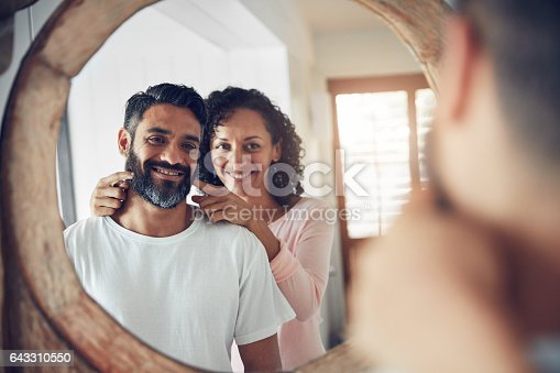istock There's the smile I fell in love with 643310550