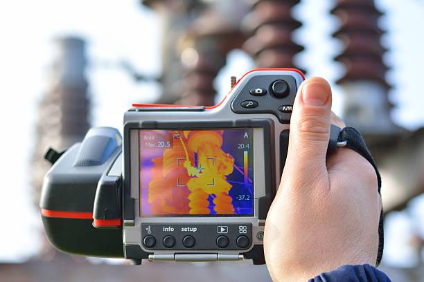Thermal Imaging and Camera stock photo