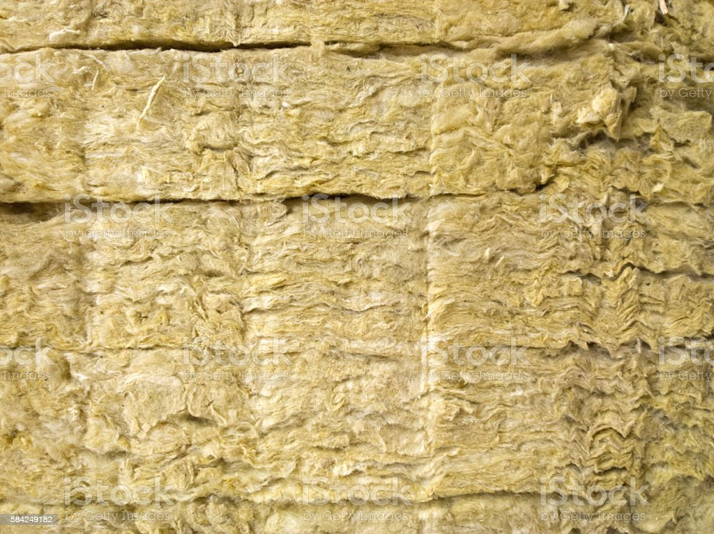 Thermal insulation for walls. stock photo