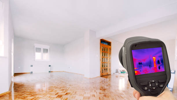 Thermal Insulation of the Home stock photo