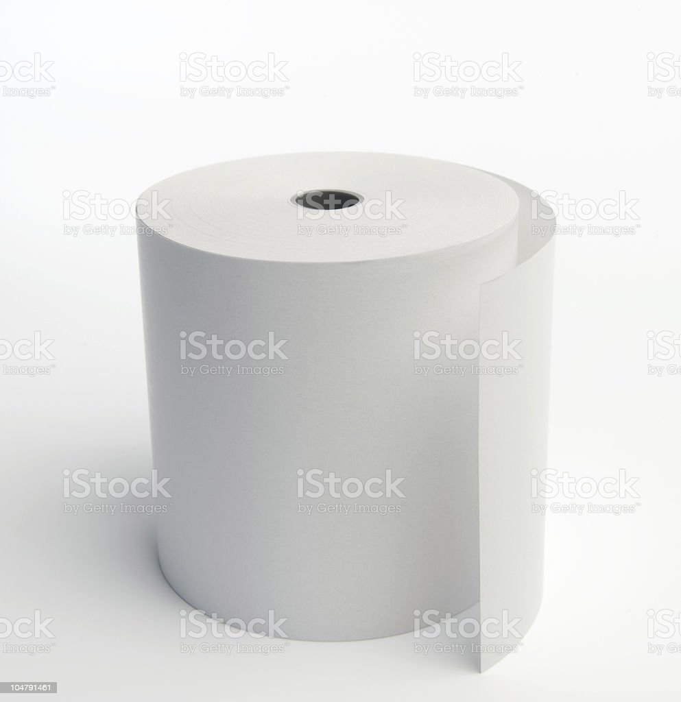 Thermal Paperroll royalty-free stock photo