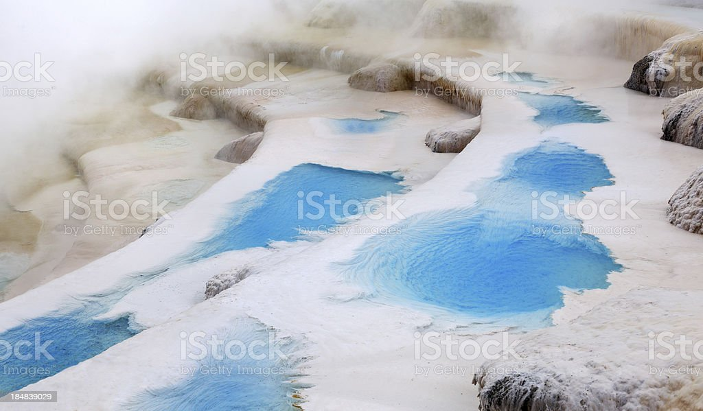Thermal Pools, New Zealand (XXXL) stock photo