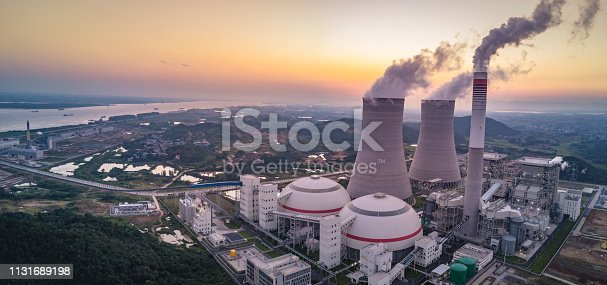 istock Thermal power plant 1131689198