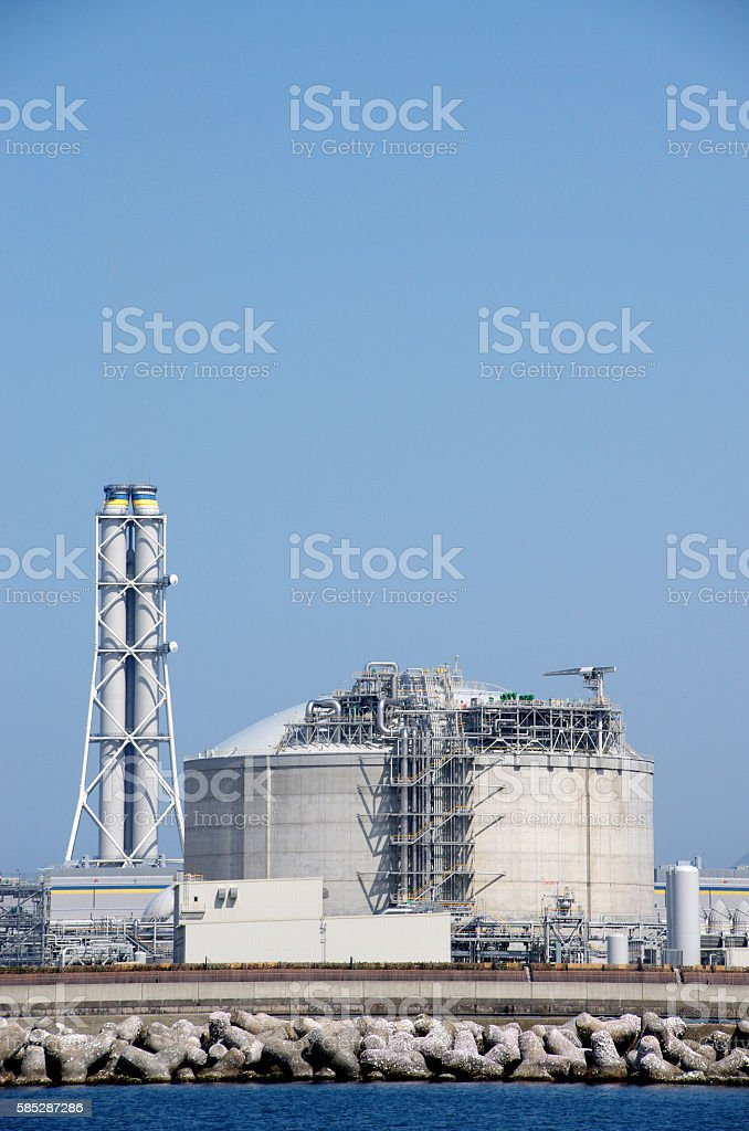 火力発電所  ストックフォト