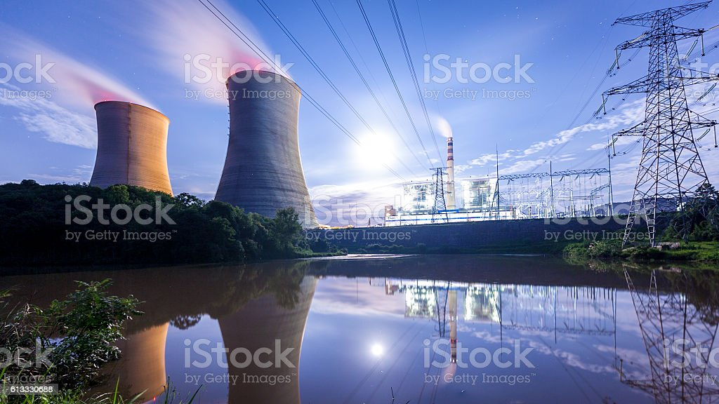 Thermal power plant​​​ foto