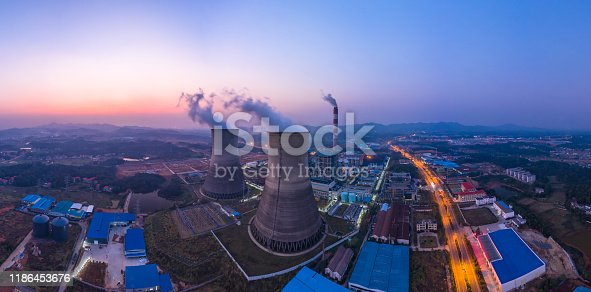istock Thermal power station 1186453676