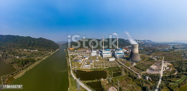 istock Thermal power station 1186455797