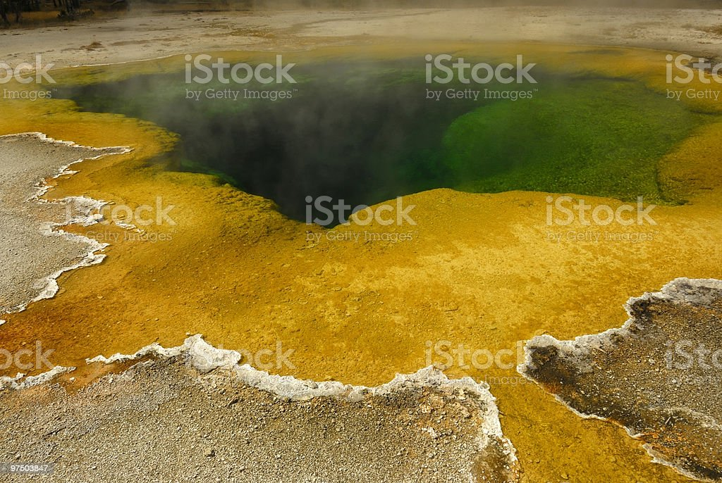 Thermal Spring royalty-free stock photo
