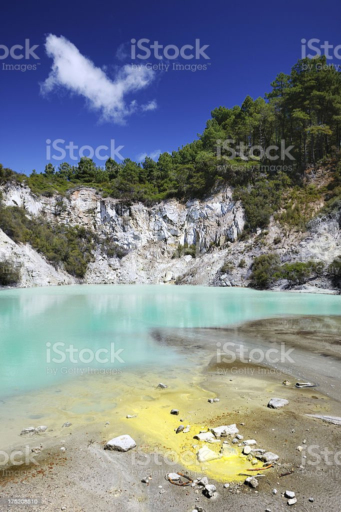 Thermal Wonderland, New Zealand (XXXL) stock photo