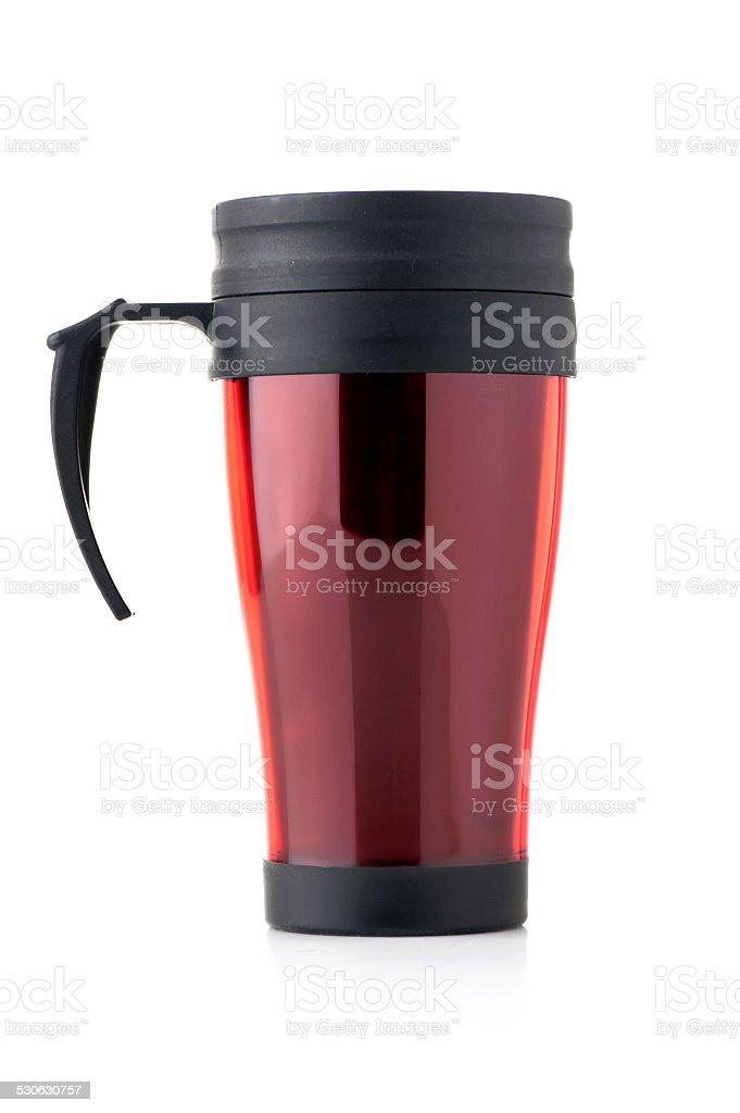 Thermo cup stock photo