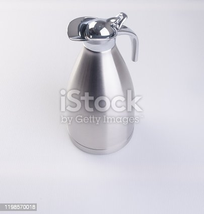 1135476970 istock photo Thermo or Thermo flask on background 1198570018
