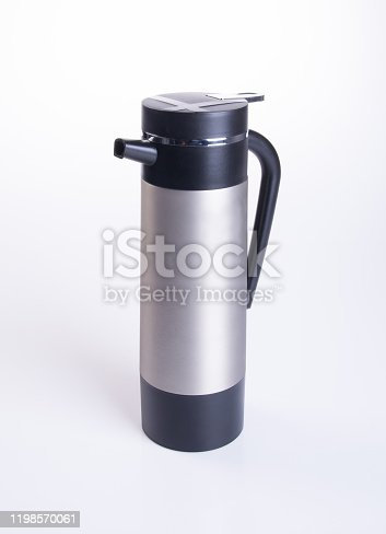 1135476970 istock photo Thermo or Thermo flask on background 1198570061