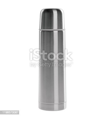 1135476970 istock photo Thermo or Thermo flask on background 1198570087
