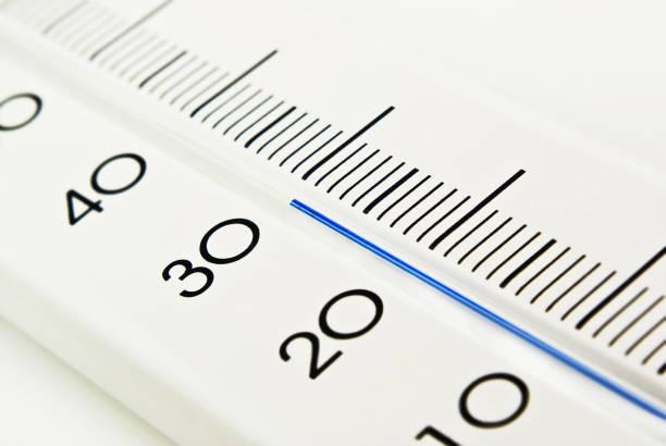 Thermometer 30 Grad Nahaufnahme – Foto